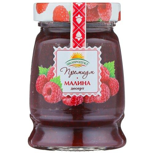 Десерт Экопродукт Премиум малина, банка 330 г