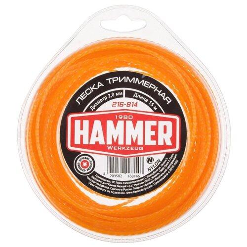Леска Hammer 216-814 2 мм 15 м