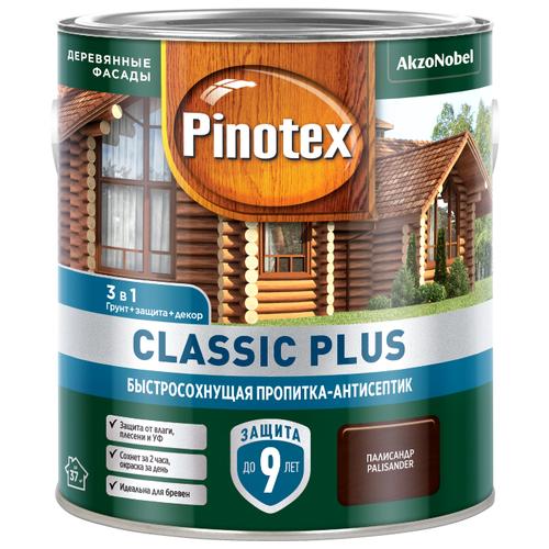 Водозащитная пропитка Pinotex Classic Plus палисандр 2.5 л