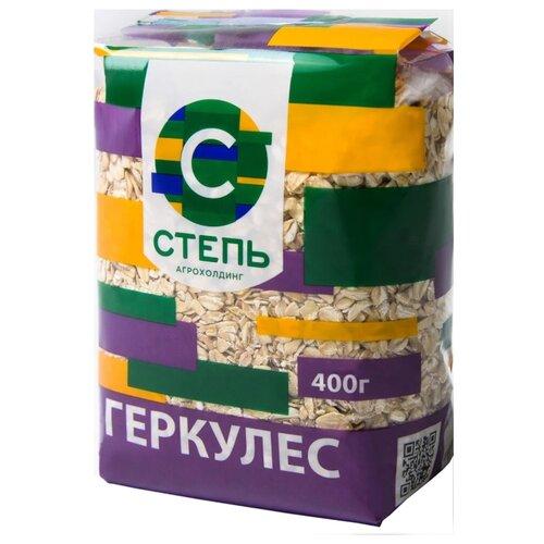 цена на Агрохолдинг СТЕПЬ Хлопья овсяные Геркулес, 400 г
