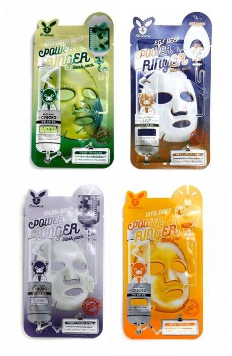 Elizavecca Набор тканевых масок с экстрактом центеллы