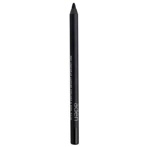 Купить Aden Карандаш для глаз Stay 24Hours Pro Longwear, оттенок black