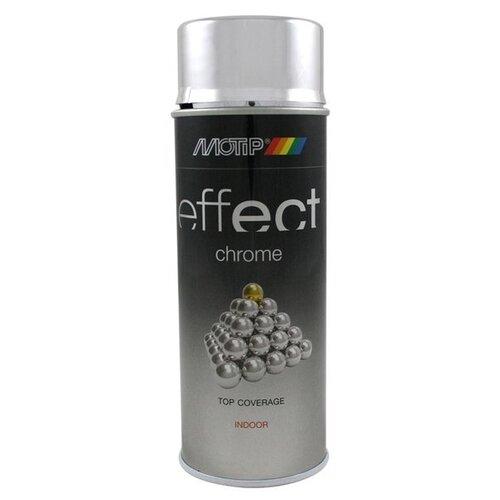 Краска MOTIP Deco effect chrome lacquer chrome 400 мл