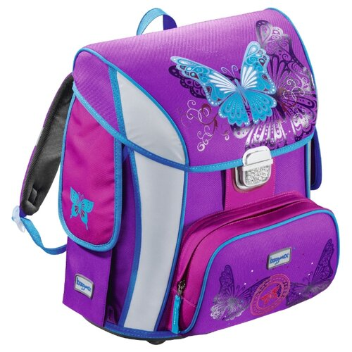 Step By Step Ранец BaggyMax Simy Butterfly (129296), фиолетовый