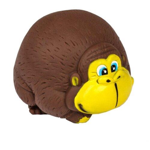 Купить Игрушка для ванной Крошка Я Обезьянка (2593709) коричневый/желтый, Игрушки для ванной