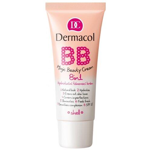 Dermacol BB Magic Beauty крем мультиактивный для красоты кожи 8в1 SPF15 30 г, SPF 15, 30 г, оттенок: 3 shell