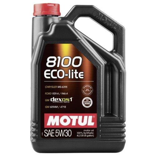 Моторное масло Motul 8100 Eco-lite 5W30 4 л моторное масло motul 8100 eco lite 0w 20 1 л