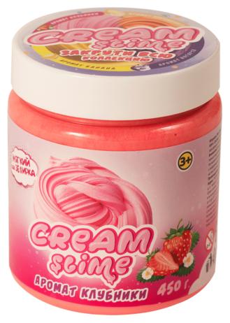 Жвачка для рук SLIME Cream аромат клубники (SF05-S)