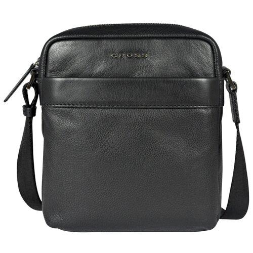 сумка планшет dclears натуральная кожа черный Сумка планшет Cross, натуральная кожа, черный