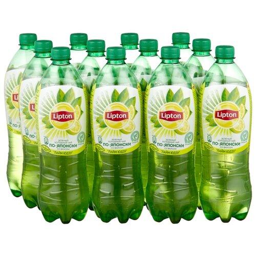 "Чай Lipton ""По-Японски"" Лайм Юдзу, ПЭТ, 1 л, 12 шт."
