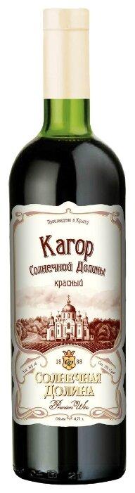 Вино Кагор Солнечной Долины , 0.75 л по выгодной цене на Яндекс.Маркете