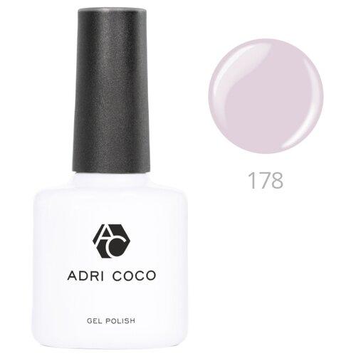 Гель-лак для ногтей ADRICOCO Gel Polish, 8 мл, оттенок 178 серебряно-серый