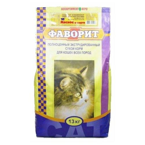 Сухой корм для кошек Фаворит 13 кг