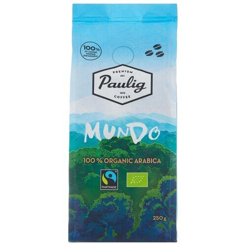 Кофе в зернах Paulig Mundo, арабика, 250 г кофе в зернах paulig arabica 250г