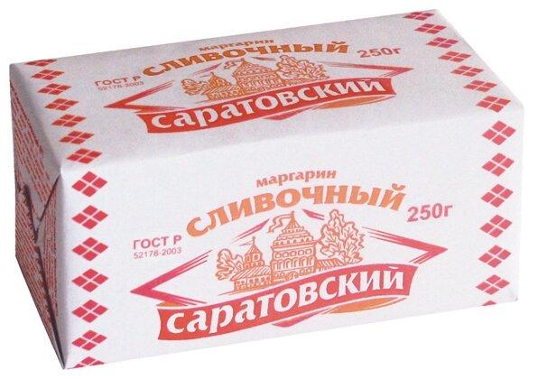 Саратовский Маргарин сливочный 60%, 250 г