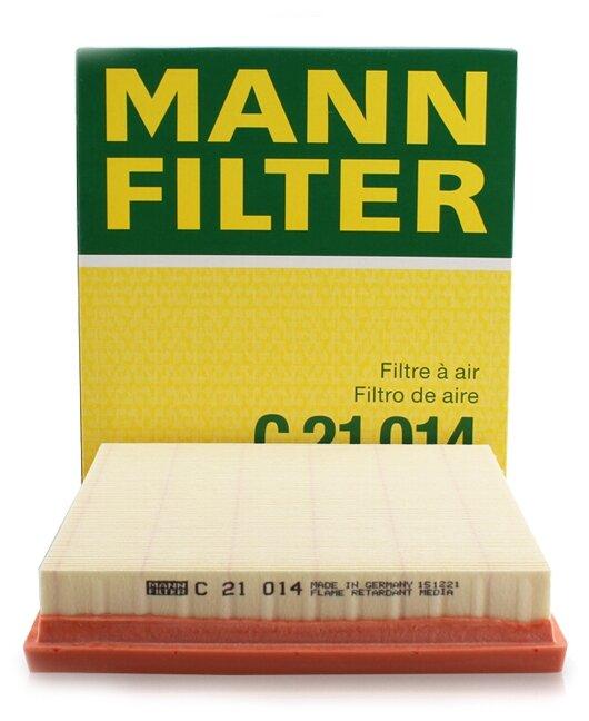Панельный фильтр MANNFILTER C21014