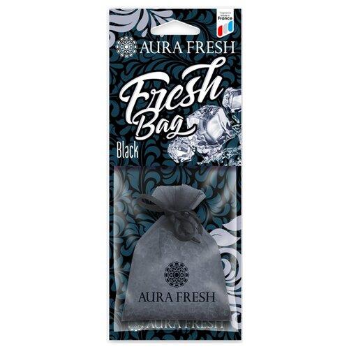 AURA FRESH Ароматизатор для автомобиля Fresh Bag Black 30 г