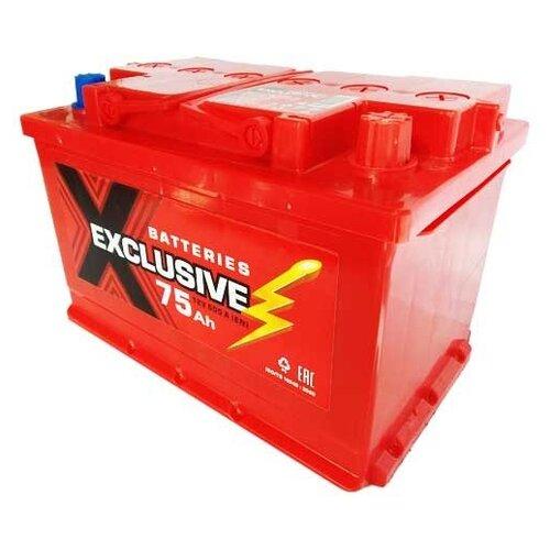 Автомобильный аккумулятор Exclusive 6СТ-75 О/П