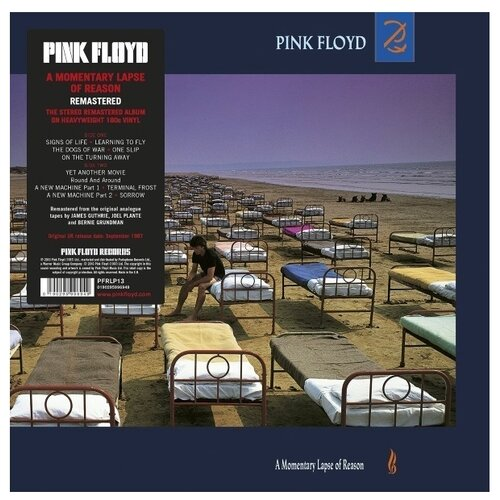 Pink Floyd. A Momentary Lapse Of Reason (LP) pink floyd pink floyd the dark side of the moon lp