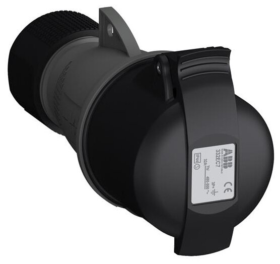 Розетка силовая (CEE) кабельная переносная ABB 2CMA102041R1000