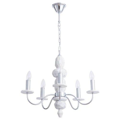 Люстра Arte Lamp Litizia A6062LM-5WH, E14, 200 Вт люстра arte lamp gracia a1528lm 5wh e14 200 вт