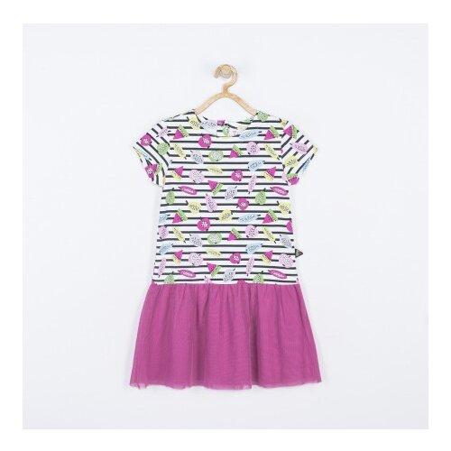 Платье COCCODRILLO размер 92, фиолетовый