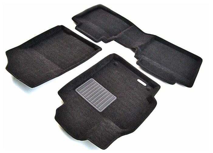 NEW GALAXY Набор ковров автомобильных 4шт, передние 63x42,5см, задние 34,5x42см