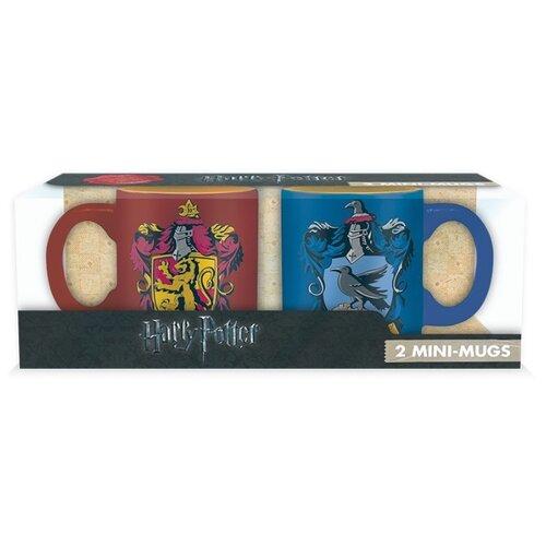ABYstyle Набор кружек Harry Potter: Gryffindor & Ravenclaw 110 мл 2 шт красный/синий набор кружек 2 пр 320 мл цветочный узор бело синий 1132700