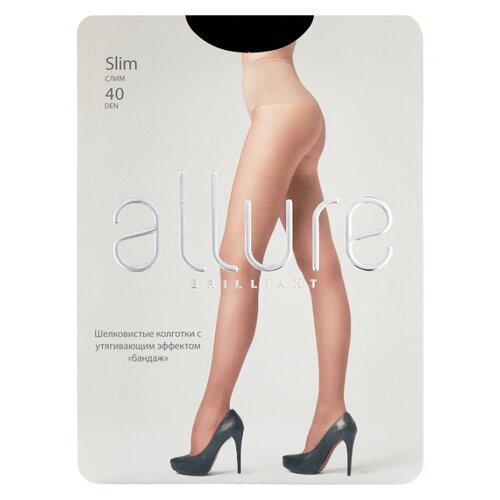 Колготки ALLURE Brilliant Slim 40 den, размер 2, nero (черный)