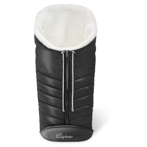 Купить Конверт-мешок Esspero Cosy White 90 см black, Конверты и спальные мешки