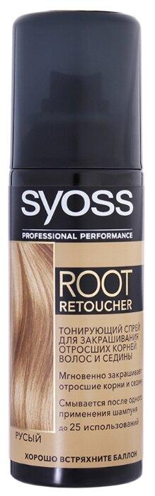 Спрей Syoss Root Retoucher тонирующий для закрашивания