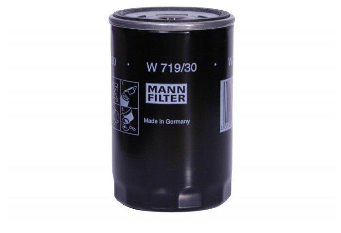 Масляный фильтр MANNFILTER W719/30