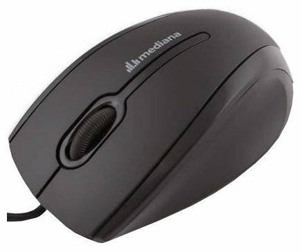 Мышь Mediana M-120 Black-Orange USB