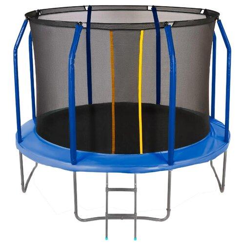 Каркасный батут JUMPY Premium 8 FT 244х244х230 см blue