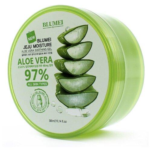 Гель для тела Blumei Jeju Moisture Aloe 97% Soothing Gel, 300 мл
