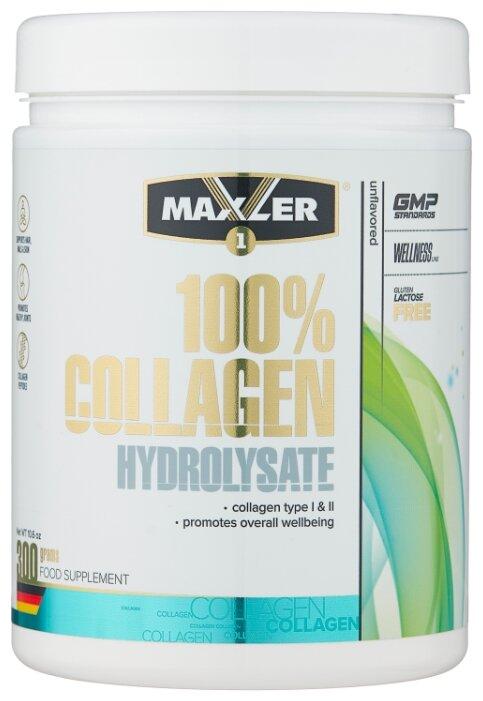 Препарат для укрепления связок и суставов Maxler 100% Сollagen Hydrolysate (300 г)