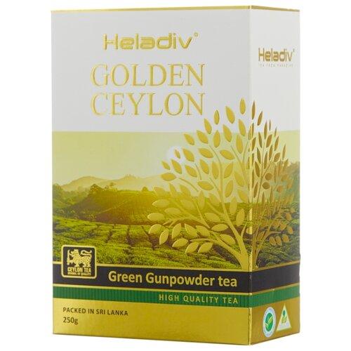 Фото - Чай зеленый Heladiv Golden Ceylon Green Gunpowder tea, 250 г чай heladiv hq green tea 100 пак