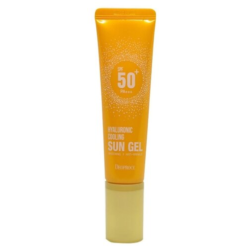 Deoproce гель Hyaluronic Cooling, SPF 50, 50 г, 1 шт