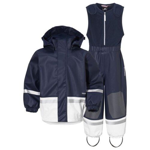 Комплект с полукомбинезоном Didriksons Boardman 502365 размер 120, 727 синий/белоснежный парка didriksons marcel