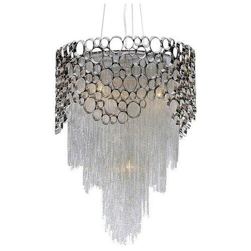 Люстра Crystal Lux HAUBERK SP-PL8 D60, E27, 480 Вт потолочная люстра crystal lux flamingo sp pl5 bi