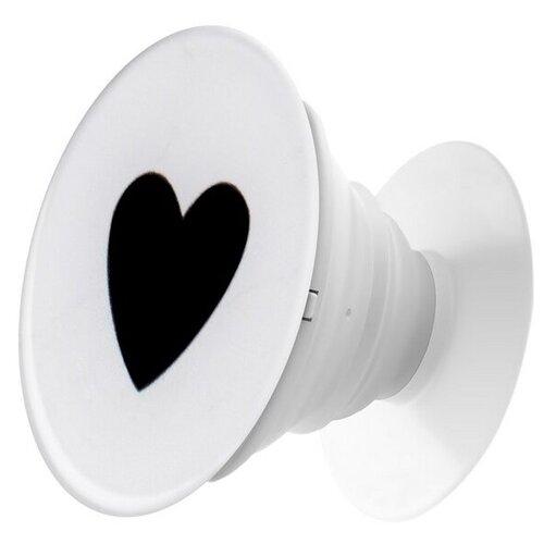 Krutoff / Пластмассовый держатель Krutoff для телефона Попсокет (popscoket) Сердце (вид 1) держатель krutoff xpo17 17096