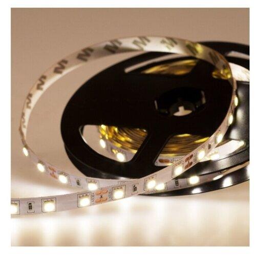 Светодиодная LED лента LAMPER белый свет, 5 м, IP23, 12 В, SMD 5050