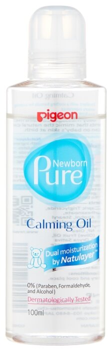 Pigeon Масло успокаивающее Newborn Pure Calming Oil