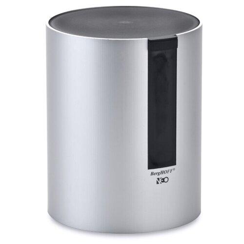 BergHOFF Емкость для хранения сыпучих продуктов Neo 3501107 0,5л серебристый/черный емкость для хранения berghoff eclipse 3700068