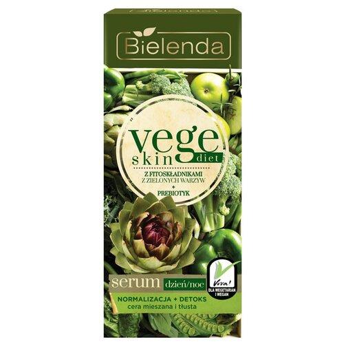 Фото - Bielenda Vege skin diet Нормализующая детксифицирующая сыворотка для лица, 15 мл bielenda bikini кокосовое