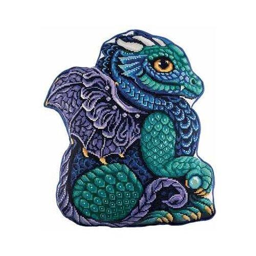 Купить PANNA Набор для вышивания Подушка Мой дракон 38, 5 х 44 см ( ПД-1964), Наборы для вышивания