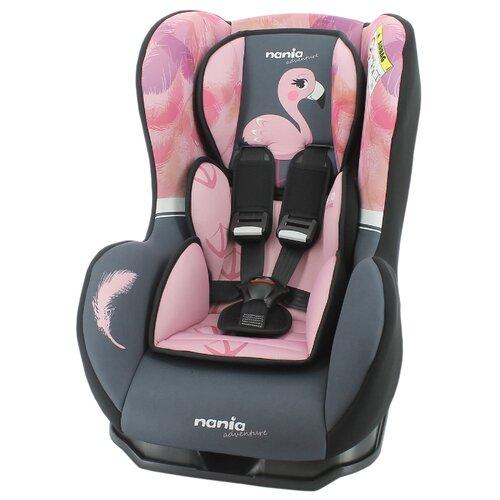 Автокресло группа 0/1 (до 18 кг) Nania Cosmo SP Animals, flamingo автокресло группа 0 1 до 18 кг nania driver animals zebra 2020