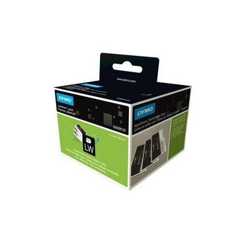 Фото - Этикетки для бэйджей, 106x62 мм, 250 штук, белые этикетки с адресом отправителя 57х32 мм белые