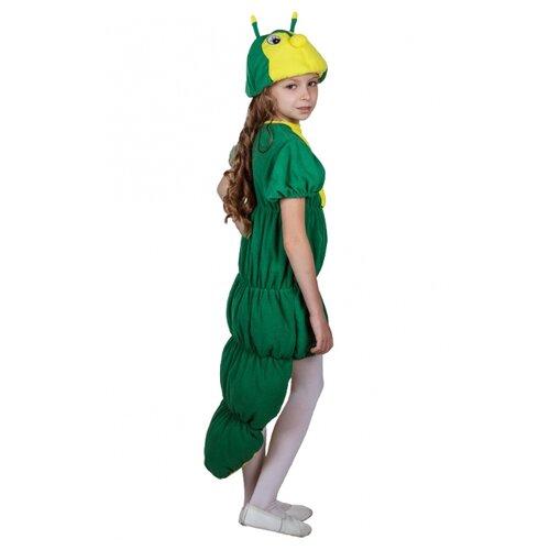 Купить Костюм ВИНИ Гусеница (91074/10), зеленый, размер 122-128, Карнавальные костюмы