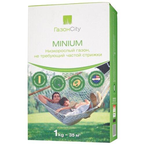 Смесь семян ГазонCity MINIUM Низкорослый газон, 1 кг